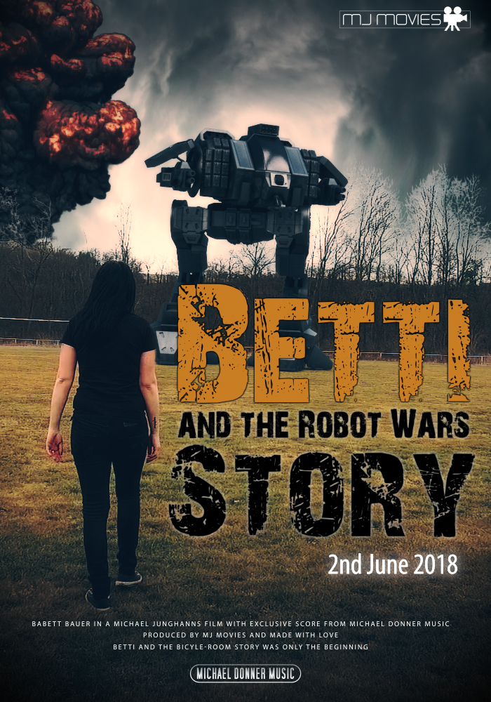 Betti and the ROBOT WARS Story