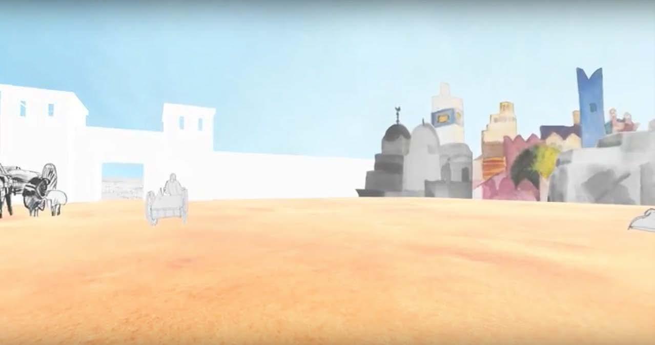 Die Tunisreise – ein animiertes Erlebnis in VR